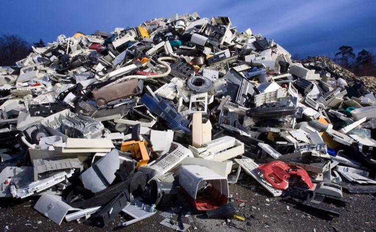 La basura electrónica de 2021 será más pesada que la Muralla China