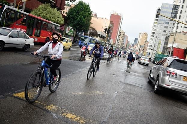 Bogotá pedalea fuerte hacia el futuro
