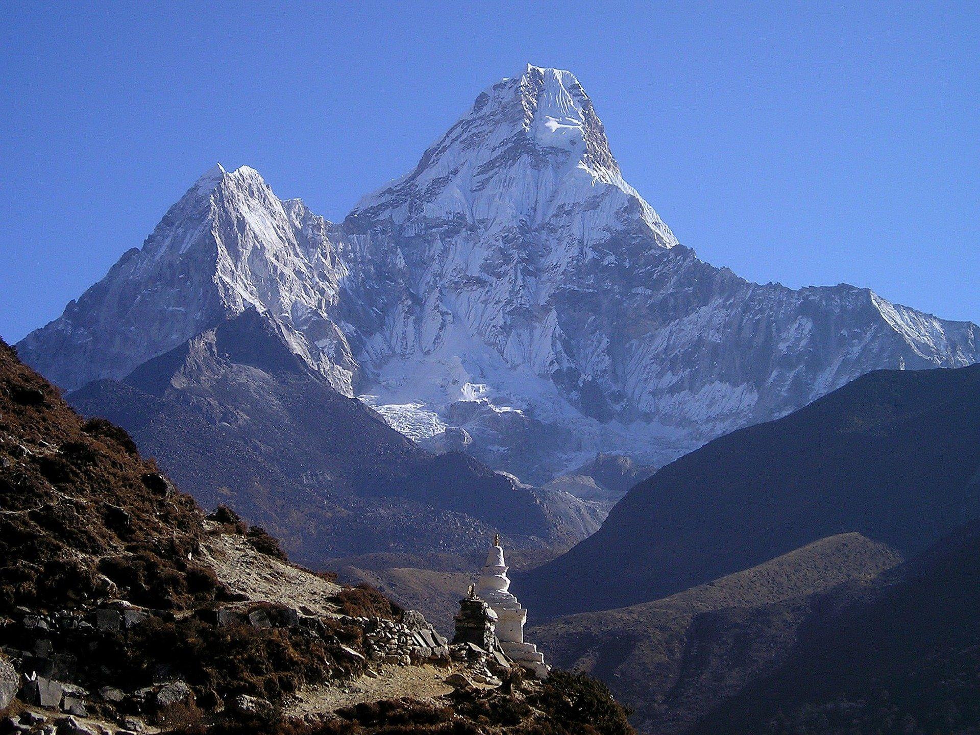 Microplásticos en el Everest