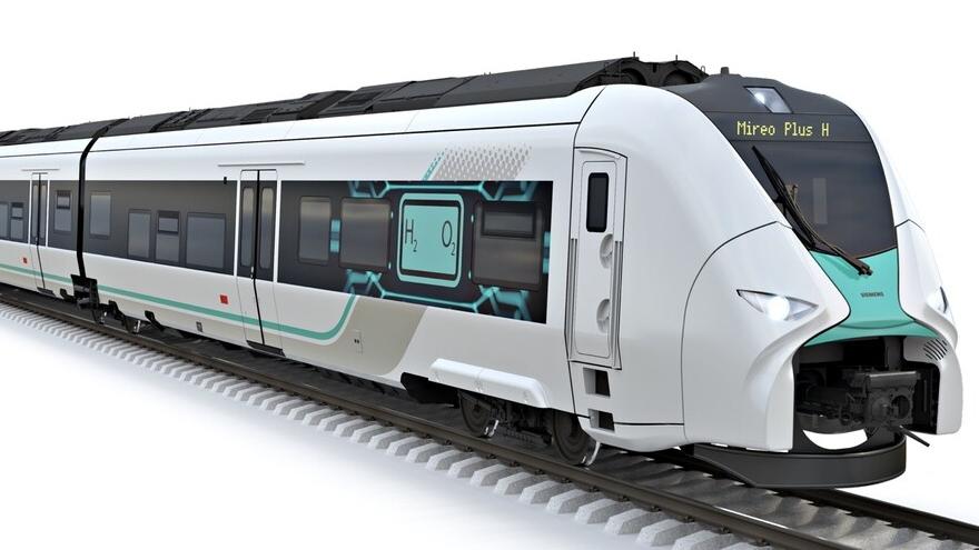 Los trenes de hidrógeno ya son una realidad.
